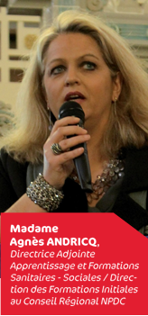 Agnès Andricq - Cappsup 2015 Directrice adjointe apprentissage - Conseil régional Hauts-de-France