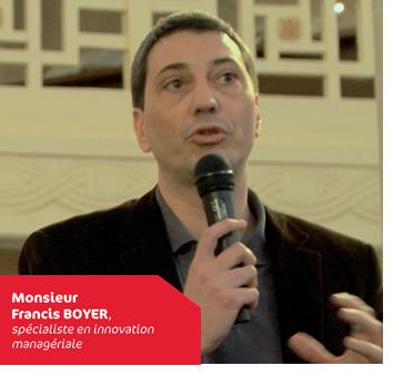 Francis Boyer, spécialiste en innovation managériale